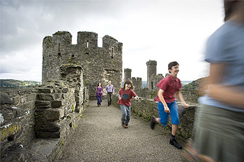 Conwy Castle children running.jpg